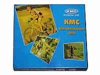Велосипедная цепь ТМ KMC Z50, хром. запчасти для велосипедов интернет магазин
