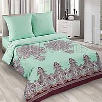 Ткань для постельного белья, поплин (хлопок) Турецкие мотивы основа