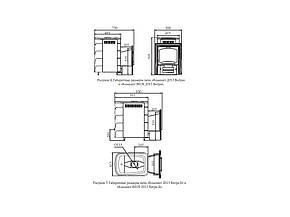 Печь для сауны Компакт 12 Антрацит  VITRA 2013, фото 2