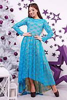 """Вечернее платье """"Lily""""  с ассиметричной пышной юбкой (3 цвета)"""