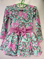 Платье для девочки с длинным рукавом Мила 3-6 лет
