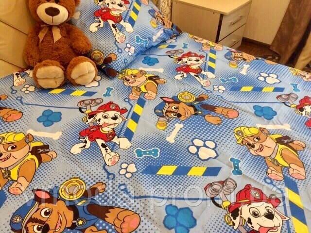 Детское постельное белье полуторное бязь голд