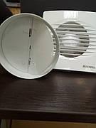 Вентилятор STYL 120 WCH-P, вентилятор с обратным клапаном, вентилятор с таймером датчиком влажности