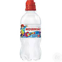 Природная вода Моршинская Спортик негазированная пластиковая бутылка 330мл