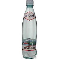Вода Боржоми сильногазированная лечебно-столовая пластиковая бутылка 500мл