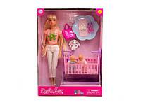 Кукла Барби аналог (мама) с ребёнком и аксессуарами Киев