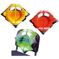 """Подушка для спины """"Кресло"""" 13асп25ив (4шт), антистресс, 4вида,  в кульке 33-33см"""