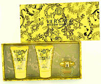 Versace Yellow Diamond Набор edt 5ml+b/lotion 25ml+sh/g 25ml Подарочный набор