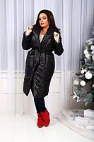 """Изящное пальто """"Roberta"""" с поясом (4 цвета)"""
