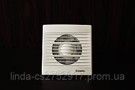Вентилятор STYL 150 WCH, вентилятор бытовой на втулке, вентилятор с таймером датчиком влажности