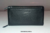 Клатч мужской MONT BLANC 66050-4 чёрный, фото 1