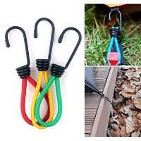 IPRee®15смMulti-purpoТентЭластичный Веревка Пряжка Ретрактор для вытягивания теней Ногти для Кемпинг Пеший туризм