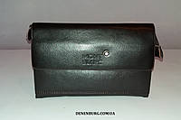 Клатч мужской MONT BLANC M 1108-1 тёмно-коричневый, фото 1