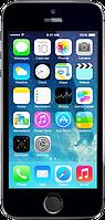 """Китайский айфон 5S (H5), дисплей 4"""", Wi-Fi, 2 SIM, ТВ, Java. Черный"""