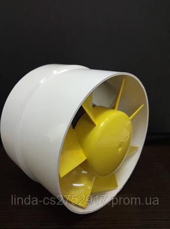 Вентилятор канальный VKO 100,бытовой вентилятор,вентилятор на втулке., фото 2