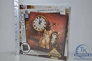 Набор часы с вышивкой гладью EC-01-01