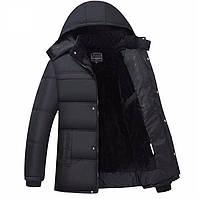 """Акция! Супер теплая Зимняя Куртка на меху Black Classic  """"GYFS""""  Вьетнам"""