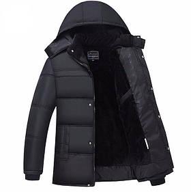 """Зимняя  куртка , Black Classic """"GYFS"""" модель 2"""