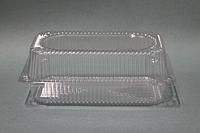 Одноразовый пищевой контейнер для еды. Размер: 22,5 х 12,5 х 8 см