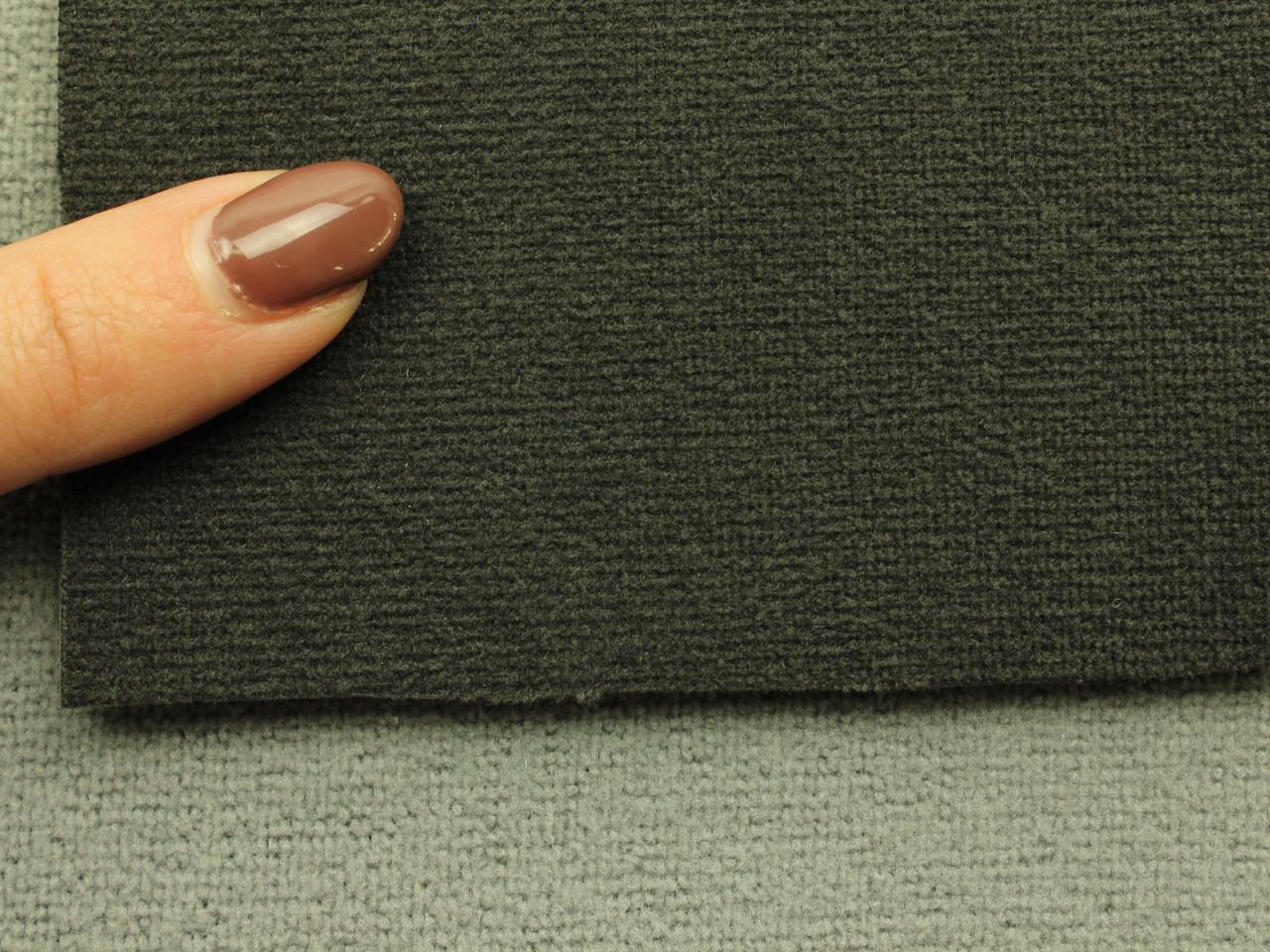 Автоткань оригинальная потолочная, цвет темно-серый, на поролоне (Германия)