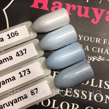 Гель-лак Haruyama №347 (пастельный серо-голубой), 8 мл, фото 2