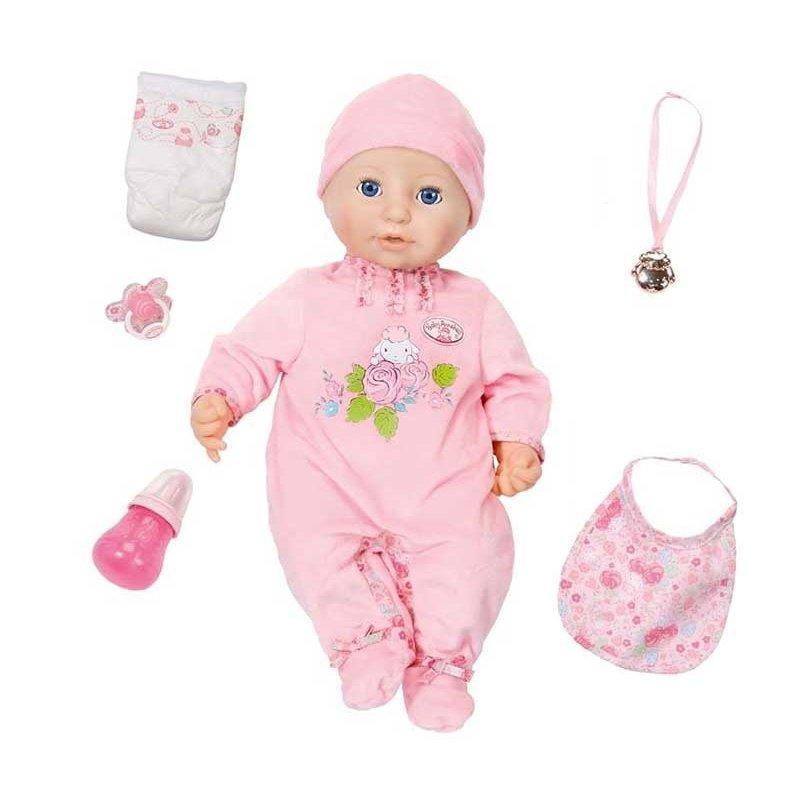 Оригинал. Кукла с мимикой 46 см Baby Annabell Zapf Creation 794401 -  Оптово-розничный 5e414e6d27802