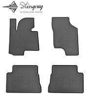 Резиновые коврики Stingray для Hyundai Getz 2002  - комплект 4 шт.