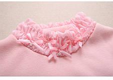 Водолазки детские. Розовая водолазка для девочки утеплення, фото 2