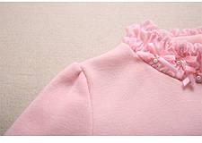Водолазки детские. Розовая водолазка для девочки утеплення, фото 3