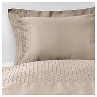 IKEA PRAKTVIVA Комплект постельного белья, бежевый  (403.798.20)