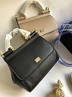 Мини-сумочка DOLCE&GABBANA натуральная кожа (реплика), фото 1