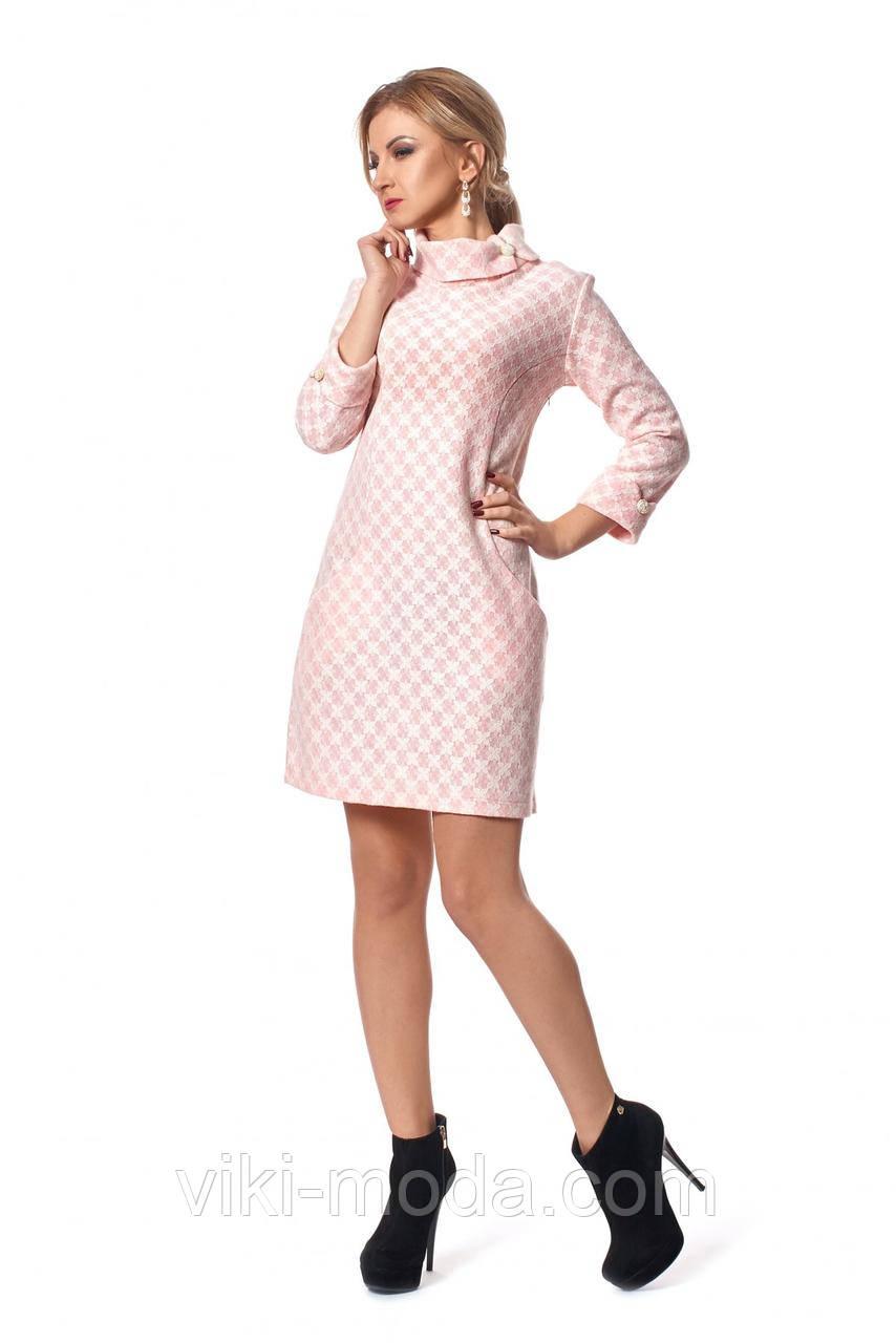 Зимнее платье трапеция, фото 1