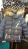 Модная зимняя куртка на мальчика
