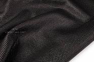Кожа одежная DoubleFace черная, фото 2