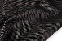 Кожа одежная DoubleFace черная, фото 1