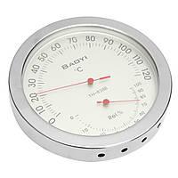 Нержавеющая сталь Сауна В помещении Термометр Температура гигрометра Датчик