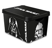 Ящик для хранения 23л Deco`s Star Wars