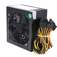 1000ВтЭлектропитание120-миллиметровыйвентиляторActive PFC 80+ Эффективный 2-PCIE LED Fan Gaming ATX PC Power Supply