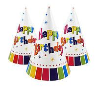Колпачок Happy birthday 15см
