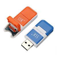 SSK SCRS022 USB 2.0 Micro SD TF Card Reader