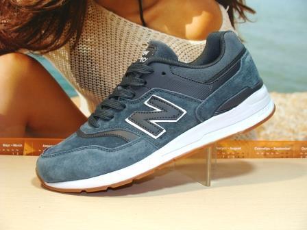 Мужские кроссовки New Balance 997 (реплика) серые 43 р.