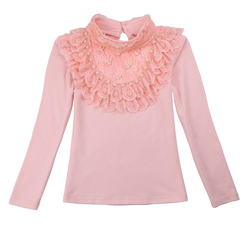 Водолазки для девочек. Розовая водолазка красивая.