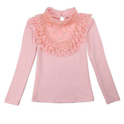 Водолазки для девочек. Розовая водолазка красивая., фото 2