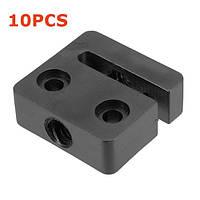 10PCS T8 8mm Lead 2mm Pitch T Thread POM Trapezoidal Болт Гайка для 3D-принтера