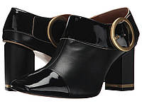 Туфли на каблуке (Оригинал) Calvin Klein Bryony Black Smooth Calf/Soft Patent