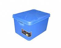 Ящик для хранения 23л Deco`s STOCKHOLM синий