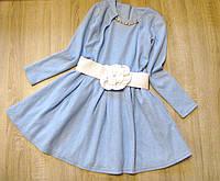 """Детское нарядное платье """"Весеннее настроение"""" 128-146"""