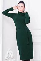 """Женское теплое платье  """"Рига"""" до 60 размера"""