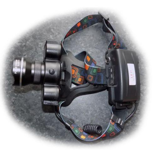 Фонарик налобный фонарь Police BL-878 T6 COB