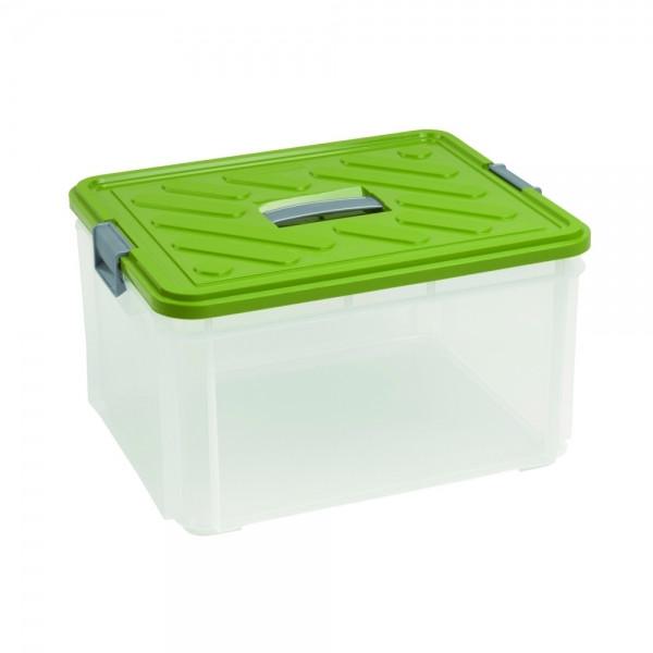 Ящик для хранения 30л с ручкой